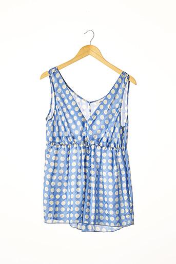 Top bleu CERRUTI 1881 pour femme