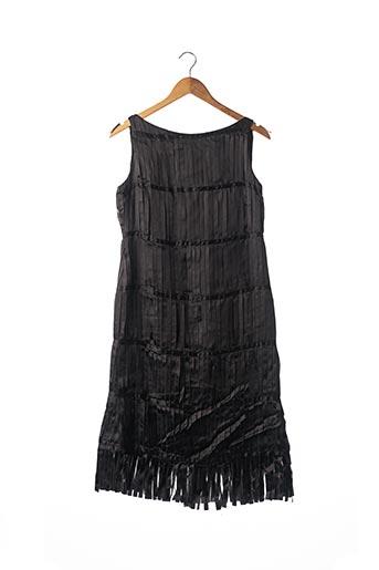 Robe mi-longue noir ANTONIO PATRIARCA pour femme