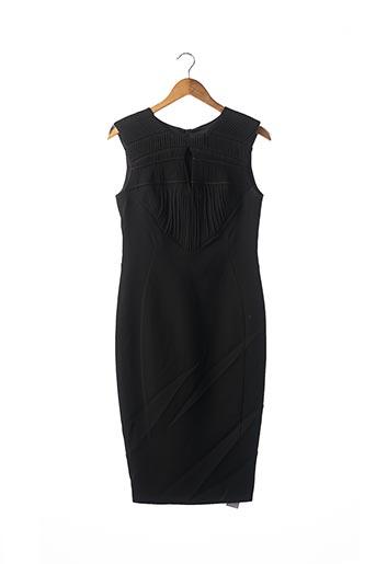 Robe mi-longue noir ARZU KAPROL pour femme