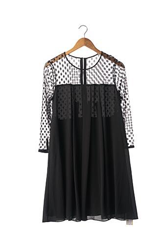 Robe mi-longue noir CLAUDIE PIERLOT pour femme