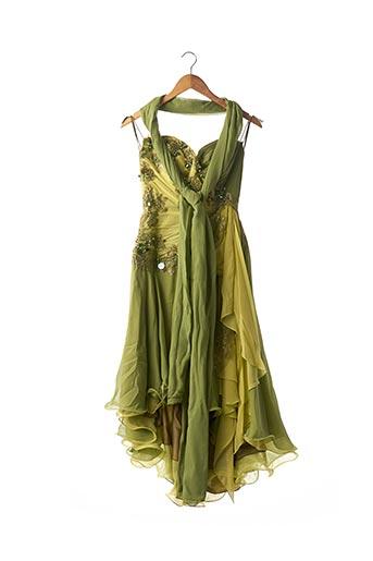 Robe mi-longue vert ALEXIS MARIAGE pour femme
