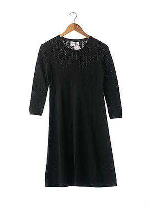 Robe pull noir ERIC BOMPARD pour femme
