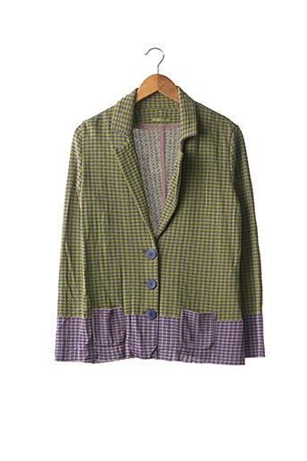 Veste casual vert CATHERINE ANDRE pour femme