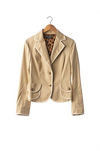 Veste chic / Blazer beige DOLCE & GABBANA pour femme
