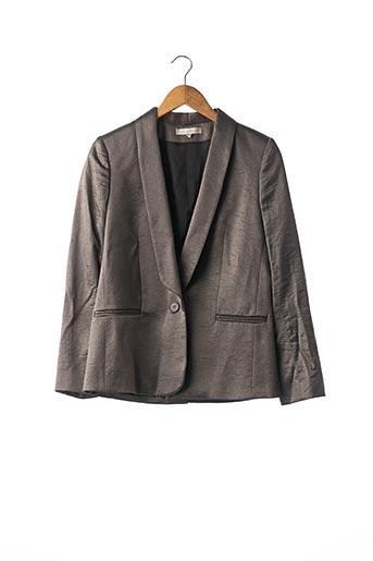 Veste chic / Blazer gris SANDRO pour femme