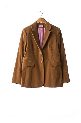 Veste chic / Blazer marron CURLING pour femme