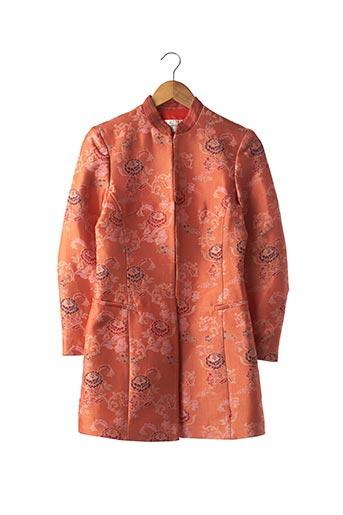 Veste chic / Blazer orange ARMAND VENTILO pour femme