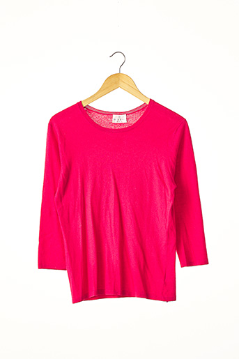 Pull col rond rose ERIC BOMPARD pour femme