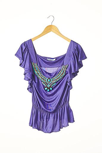 Top violet BLUMARINE pour femme
