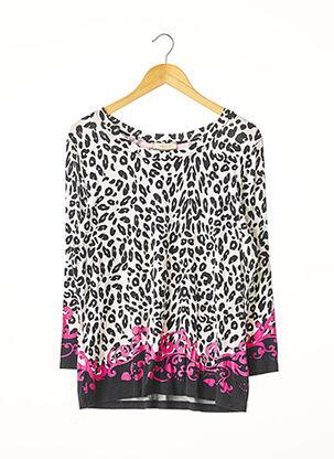 T-shirt manches longues rose MARANI pour femme