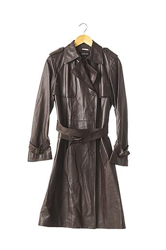 Manteau long marron EPISODE pour femme