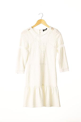 Robe mi-longue blanc THE KOOPLES pour femme