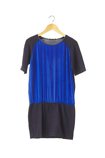 Robe mi-longue bleu MAJE pour femme
