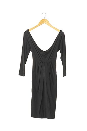 Robe mi-longue noir PINKO pour femme