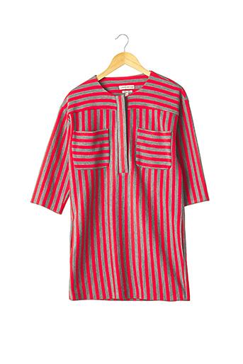 Robe mi-longue rouge PAUL & JOE pour femme