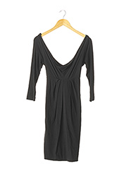 Robe mi-longue noir PINKO pour femme seconde vue