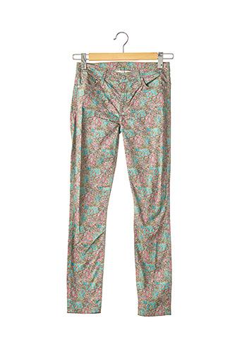 Pantalon casual bleu FOR ALL MANKIND pour femme