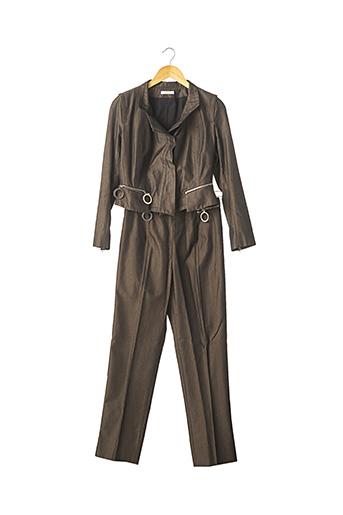 Veste/pantalon marron PAULE KA pour femme