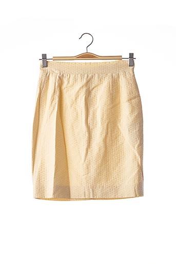 Jupe courte jaune PAULE KA pour femme