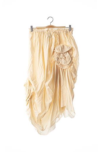 Jupe mi-longue beige COMME DES GARCONS pour femme