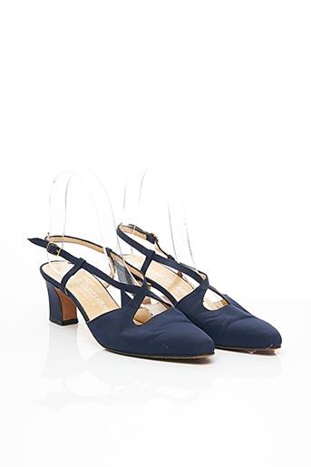 Sandales/Nu pieds bleu CHARLES KAMMER pour femme