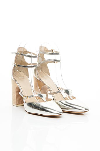 Sandales/Nu pieds gris CHLOE pour femme