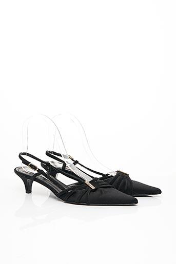 Sandales/Nu pieds noir FRATELLI ROSSETTI pour femme