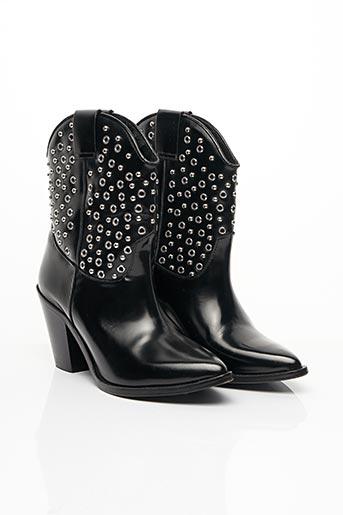 Bottines/Boots noir THE KOOPLES pour femme