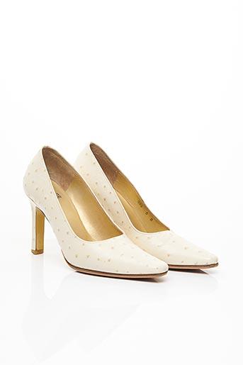 Escarpins beige CHARLES JOURDAN pour femme