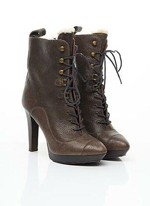 Bottines/Boots marron KENZO pour femme