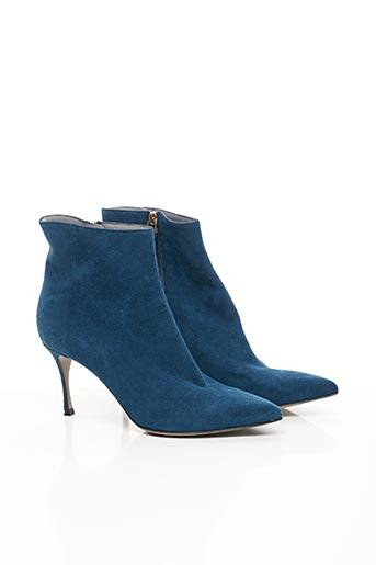Bottines/Boots bleu SERGIO ROSSI pour femme