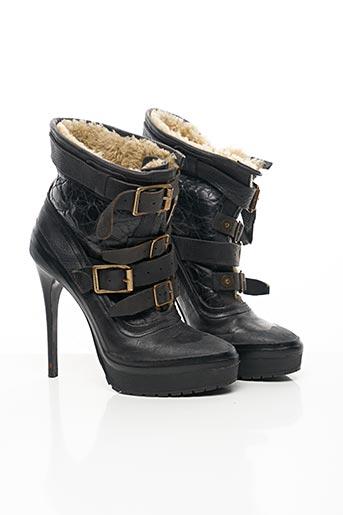 Bottines/Boots noir BURBERRY pour femme