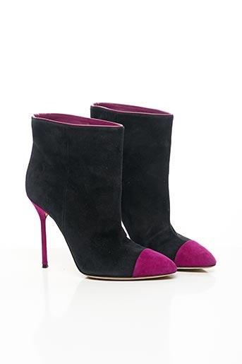 Bottines/Boots violet SERGIO ROSSI pour femme