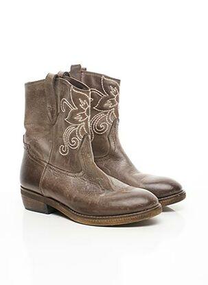 Bottines/Boots marron ANN TUIL pour femme