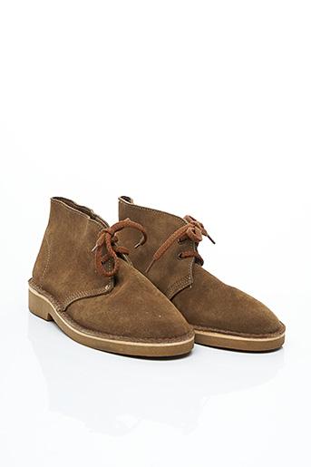 Bottines/Boots marron ARIDZA BROSS pour femme
