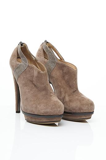 Bottines/Boots marron FENDI pour femme
