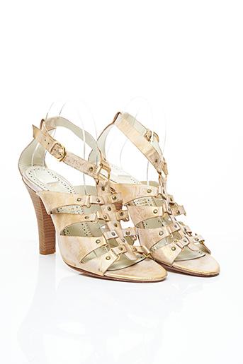Sandales/Nu pieds beige BALMAIN pour femme