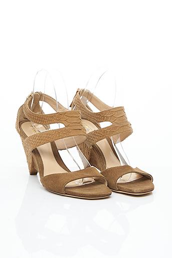 Sandales/Nu pieds marron FENDI pour femme