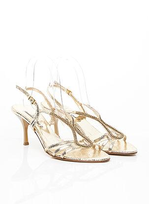 Sandales/Nu pieds jaune ANNABELLA CLUB pour femme