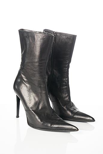 Bottes noir EDMOND.K pour femme