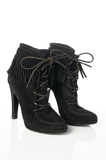 Bottines/Boots noir BALMAIN pour femme
