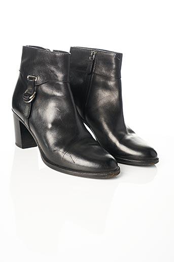 Bottines/Boots noir CAVALLIN pour femme