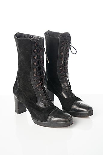 Bottines/Boots noir CHARLES KAMMER pour femme
