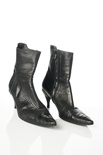 Bottines/Boots noir COSTUME NATIONAL pour femme