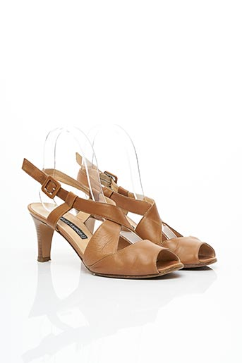 Sandales/Nu pieds marron CHARLES KAMMER pour femme