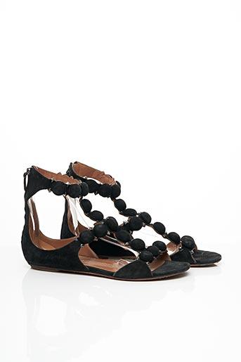 Sandales/Nu pieds noir ALAIA pour femme