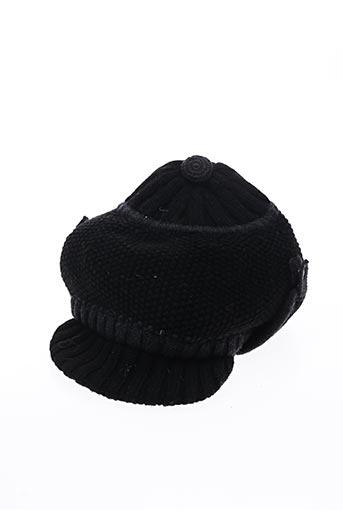 Casquette noir LARA KAZAN pour femme