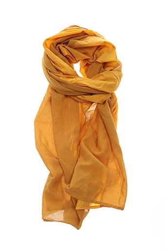 Foulard jaune LANVIN pour femme