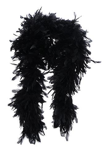 Foulard noir SANS MARQUE pour femme
