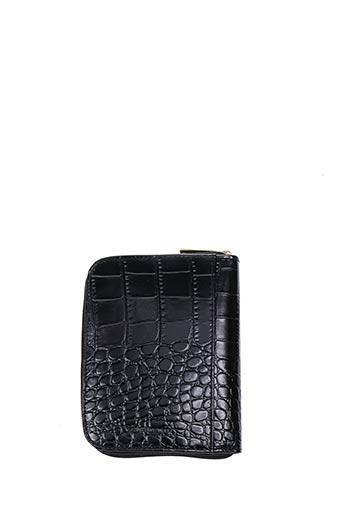 Porte-monnaie noir JACOB & CO pour femme